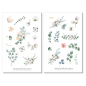 Preview: Eucalyptus and Cotton Sticker Set
