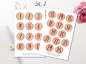 Preview: Advent Calendar Sticker Set