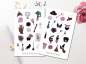 Preview: Girl Witch Sticker Set