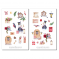 Preview: Christmas Snowman Sticker Set