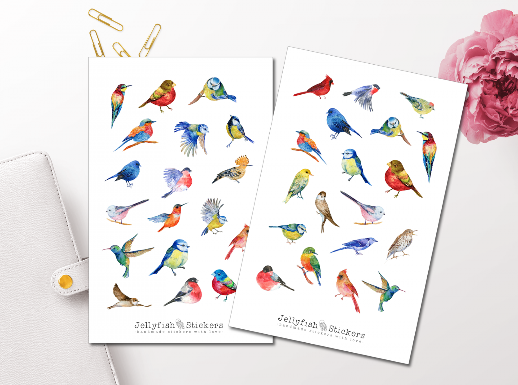 Birds Sticker Set
