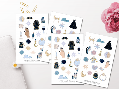 Girls Magic Sticker Set