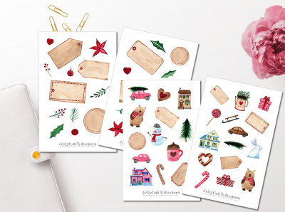 Christmas Gifts Sticker Set